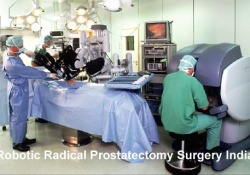 robotic radical prostatectomy surgery india