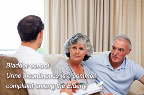 Bladder control – Urine incontinence is a common complaint among the elderly