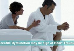 Erectile Dysfunction may be sign of Heart Trouble