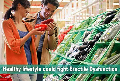 Healthy lifestyle could fight Erectile Dysfunction