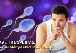 SAVE THE SPERMS.. Does our lifestyle effect male fertility?