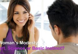 Womans Modesty - Art Science or Basic Instinct