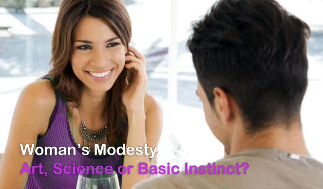 Womans Modesty - Art Science or Basic Instinct