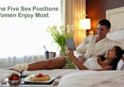 The Five Sex Positions Women Enjoy Most