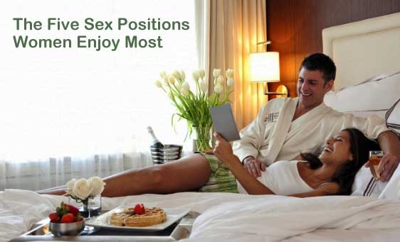 The Five Sex Positions Women Enjoy Most