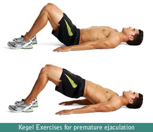 Kegel Exercises for premature ejaculation